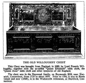 The Old Willoughby Chest