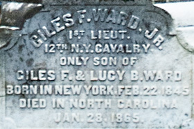 Giles Ward Inscription