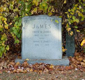 Anna James Marker