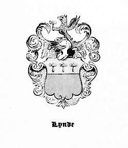 Coat of Arms, Lynde Family